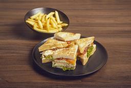 Club sándwich.