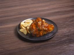 Bulleit bbq roasted chicken.