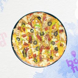 Pizza Pollo Ranchero