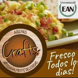 Arepa Craft Huevo Tocineta