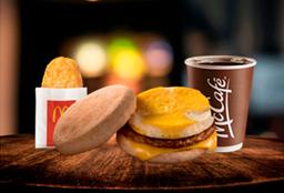 McCombo™ Egg Muffin Salchicha con Hashbrown