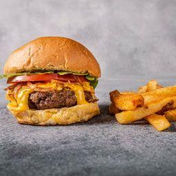 Burger Cheddar Crispy