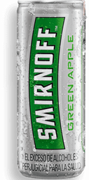 Coctel Smirnoff Ice Green Apple Lata 250 Ml