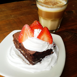 Brownie + Cappuccino