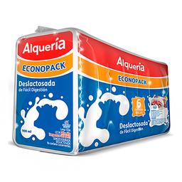 Leche Deslactosada X6  Alqueria