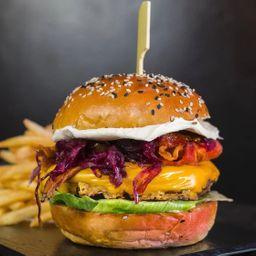 Red lion burger