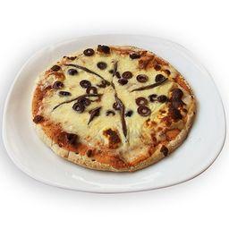 Pizza Anchoas y Aceitunas