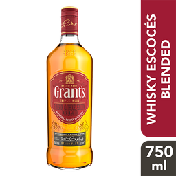 Grant's Triple Wood Blended Scotch Whisky 750 ml.