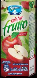 Néctar Frutto Alpina Manzana Caja 200 ml
