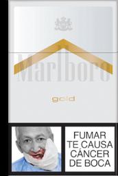 Cigarrillos Gold Marlboro