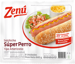 Salchicha Perro Zenu X 640G
