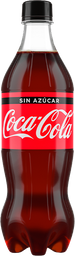 Coca - Cola Sin Azucar 600Ml