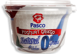 Yogurt Griego Natural Sin Dulce Pasco