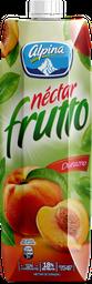 Néctar Frutto Alpina Durazno Caja 1000 ml