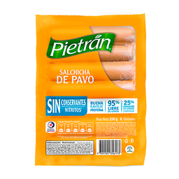 Salchicha de Pavo Pietran