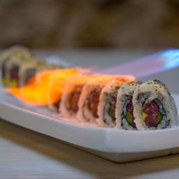 Sushi de Atún en Salsa de Trufas