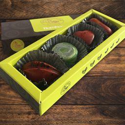 Caja x4 de bombones de autor artesanales
