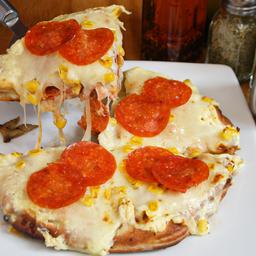 Estofada Maíz, Pepperoni y Tocineta