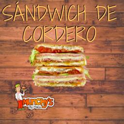 Sándwich de Cordero