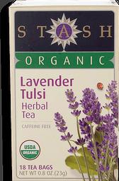Té Orgánico Lavender Tulsi Herbal Stash Siraj