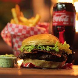 Combo Bacon & Cheese Burger