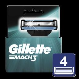 Gillette Mach3 Cartuchos Para Afeitar