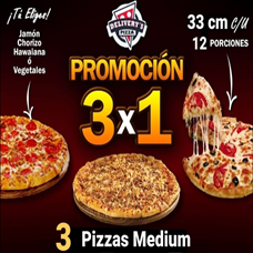 3x1 Pizza Medium