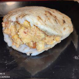 Combo Arepa de Huevo