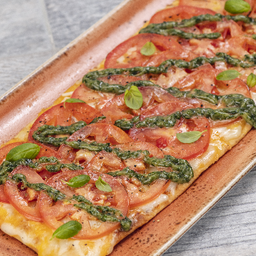 Combo Three Cheese & Roma Tomato Flatbread