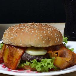 Hamburguesa Gourmet de la Casa