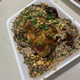 Pollo Relleno Árabe