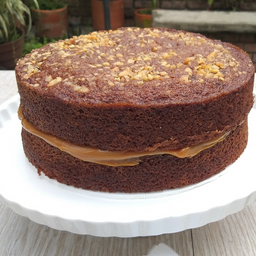 Torta de Zanahoria y Piña (10 porciones)