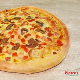 Pizza Suprema de Pollo Mediana