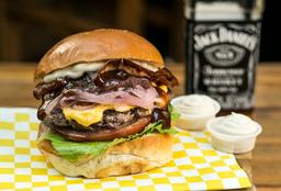 Hamburguesa artesanal Bbq Jack Daniel's