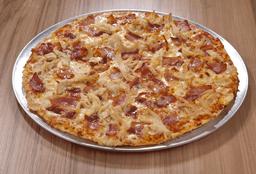 Pizza Tocineta y Pollo