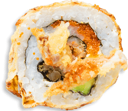 Sushi Salmón Crunch Roll
