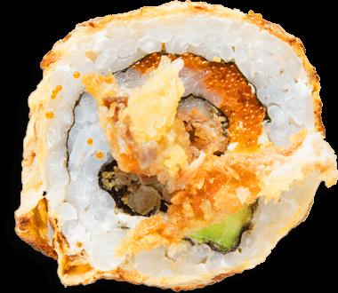 Sushi Salmón Crunch Roll