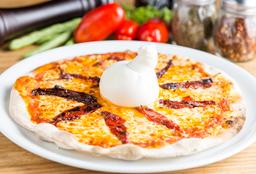 Pizza Burrata y Tomates Confitados