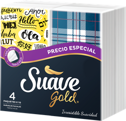 Pañuelos Faciales Gold Caja Suave