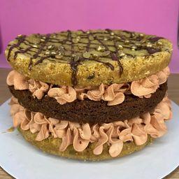 Torta Mix Galleta y Brownie (12 porc)
