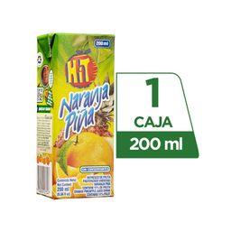 Hit Cajita Naranja Piña 200 ml