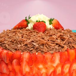 Torta de Fresa Chocolate Grande