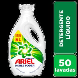 ARIEL Liquido Concentrado Doble Poder Botella 2 Litros