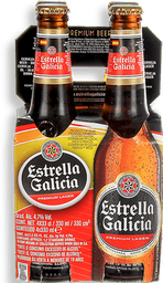 Cerveza Pack Estrella Galicia