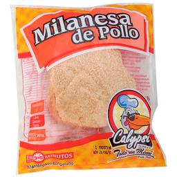 Milanesa Pollo Apanado 4 Und