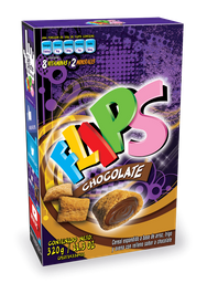 Flips Cereal Chocolate Caja