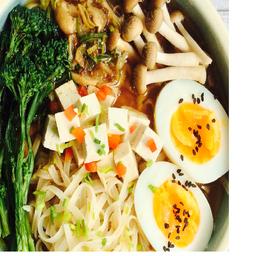 Sopa de Ramen Tofu Ahumado