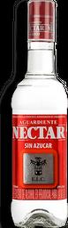 Aguardiente Rojo Sin Azucar Nectar 750Ml