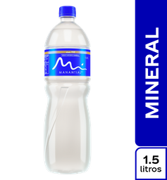 Agua Natural Sin Gas Manantial