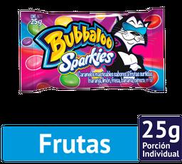 Bubbaloo Sparkies Multisabor Bolsa